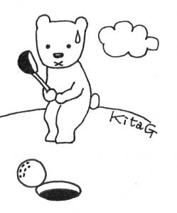 京都北ゴルフクラブでゴルフ練習!